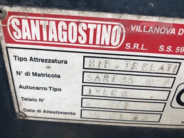 Iveco DAILY 35-10 Usato 2005 Veneto