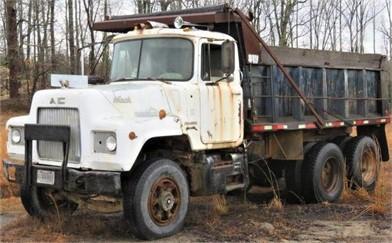 MACK DUMP TRUCK Auktionsergebnisse - 2 Auflistungen ... F Dump Truck Alternator Wiring Diagram on
