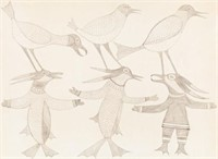 Inuit Art & First Nations Fine Art Auction of May 3, 2014