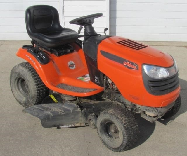 2017 Ariens 21 Hp 42 Riding Mower Rowley Auctions