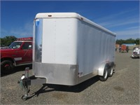 (DMV) 2001 Interstate West 6.5' x 14' Enclosed Tra