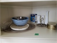 Metal Meat Tray, Candy Dish, Bud Vase