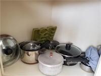 Pots W/Lids, (2) Pcs Revere Ware