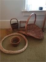 Wicker Baskets,Wreath