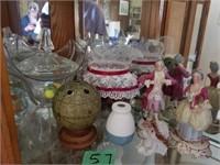 Misc Glassware- Figurines