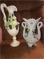 Pitcher-Vase-Candle Holders