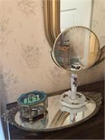 Tray- Vanity Mirror- Jewelry Box