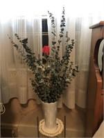 Side Table - Floral Decor