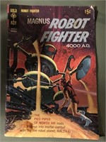 Magnus Robot Fighter Comic Book