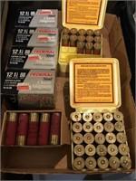 (5) Federal 12 Gauge 2 3/4 Loads, (2) Boxes Misc