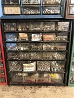 (3) Hardware Organizers with Contents