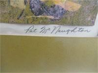 "Pat McNaughton framed print 16.5""x21"""