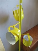 "Yellow floor lamp -61"""