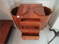 """Sewing cabinet 27""""W 30""""T"""
