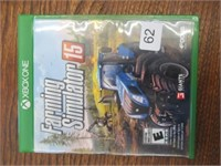 XBox One Farming Simulator 15 game - working