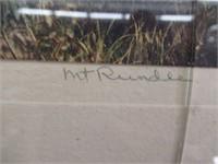 Mt Rundle framed print