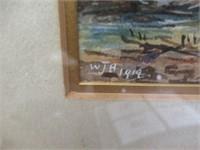 WJB framed print