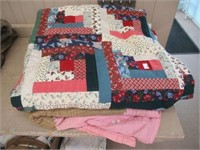 Group of quilts