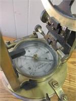 "J. Halden & Co. brass compass scope -13.5""T"