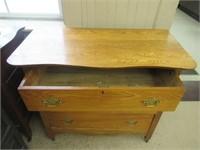 "3 drawer chest - 37""W 33""T"