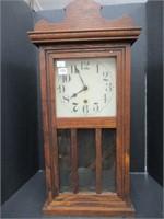 "Shelf Clock - 26"" with key and pendulum"