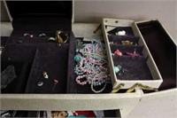 Jewelry box & contents