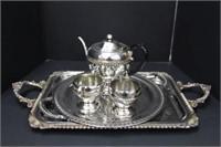 Wm. Rogers Silverplate Tea service