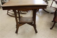 Eastlake lamp table