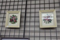 7 needlepoint prints