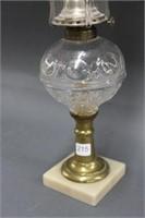 """Oil lamp - 20.5"""""""