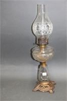 """Oil lamp - 22"""""""