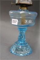 "Apolla blue oil lamp - 16"""