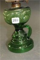 """Green finger oil lamp - 15"""""""