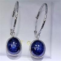 10K White Gold Enhanced Star Sapphire(11.5ct)