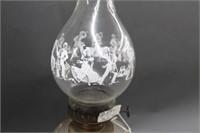 """Star oil lamp - 21"""""""