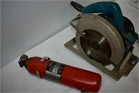 Makita Circular Saw, Fire Extinguisher &