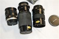 Grp, of Minolta Camera, Cases, Lenses