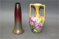 """2 vases - 9"""""""