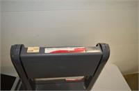 (2) Plastic Folding Stools