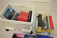 (2) Totes of Books