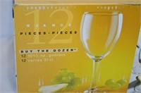 12pc. Wine Glass Set