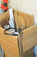 Grp, of Assorted Items - Trim, Wire Shelving,