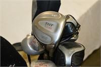 RH Golf Clubs with Spalding Bag