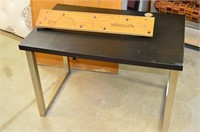 Small Desk and Folding Table