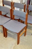 (5) Upholstered Dining Chairs