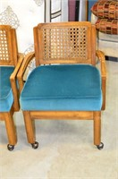 (2) Chairs on Castors