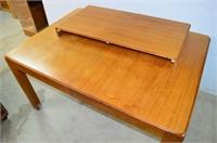 """Dining Table, 40"""" x 55"""" plus 20"""" leaf"""