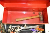 """19"""" Toolbox with Assorted Tools"""