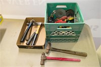 Crate of Hammers, Screwdrivers