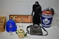 Coach Purse, Ice Bucket, Tea Pot, etc.